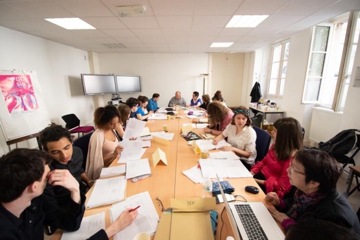 Le Jury 2018 au Ministère de l'Education nationale, Salle Jules Ferry