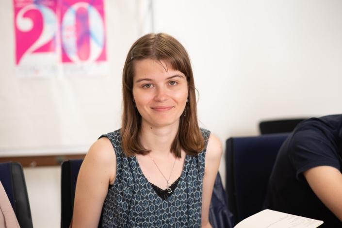 Eva Pechová, lauréate, étudiante en arts appliqués à Prague, République tchèque