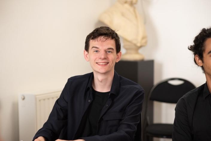 Benoît Martinez, étudiant