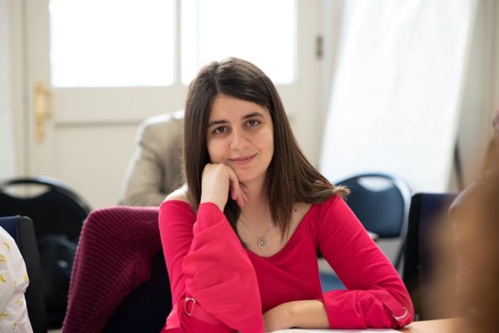 Hasna Redjdal, étudiante à l'Université Abderrahman Mira - Béjaïa. Algérie