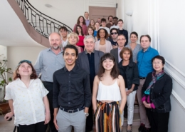 le Jury 2018 au complet (presque) avec Dominique Pince-Salem du Ministère de l'Education nationale au 4ème rang derrière Matthias Vincenot