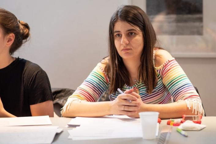 Hasna Redjdal étudiante, Université Abderrahman Mira - Béjaïa. Algérie