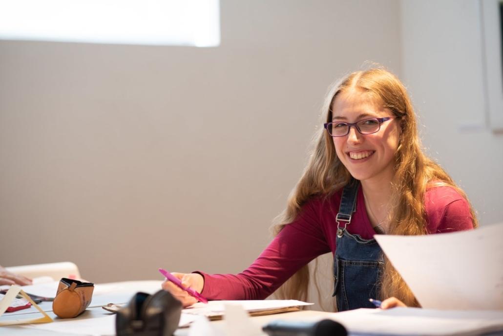 Raphaëlle Vander Goten en 5e secondaire (Première) Latin-Math-Sciences , Athénée Royal de Pont-à-Celles - Pont-à-Celles. Belgique