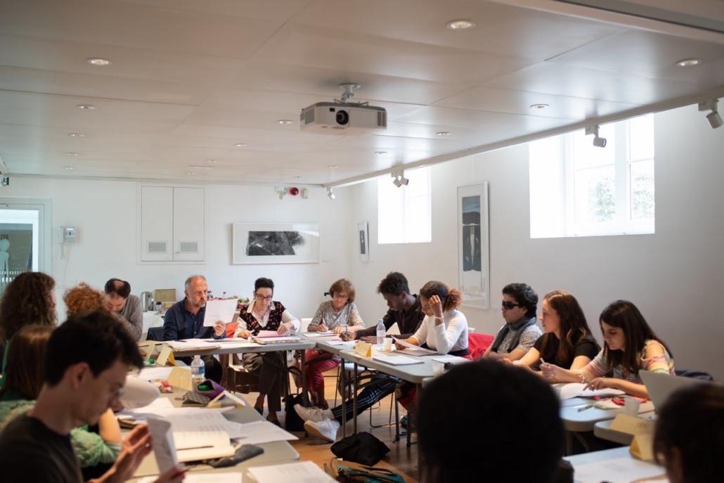 Jour 3 - le Jury à l'Espace Andrée Chedid - Issy-les-Moulineaux (92)