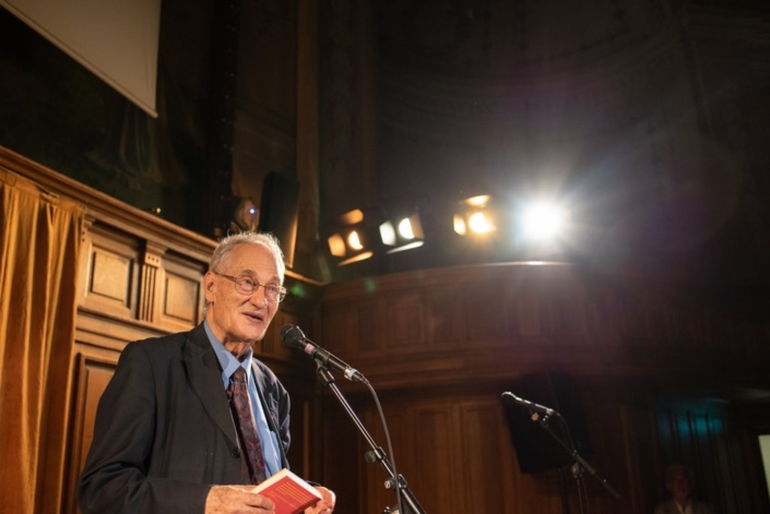 Pierre Brunel, Professeur émérite de l'Université Paris-Sorbonne, Président d'honneur de Poésie en liberté