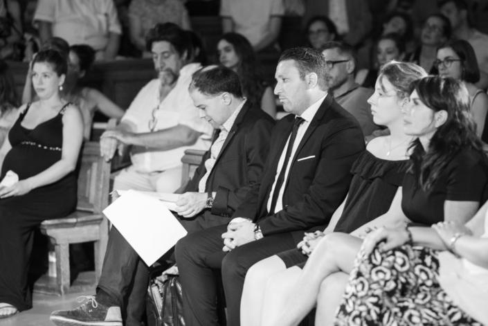 Mohamed Khaled, Premier Secrétaire, Ambassade d'Algérie, Victoire et Manon Laporte, Région Île-de-France