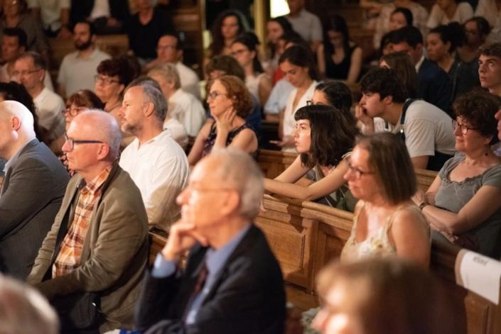 en blanc, Etienne Orsini, Président du Jury 2018