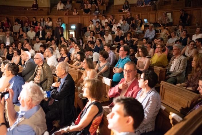 lundi 2 juillet 2018, Amphithéâtre Richelieu, proclamation des résultats du concours 2018.
