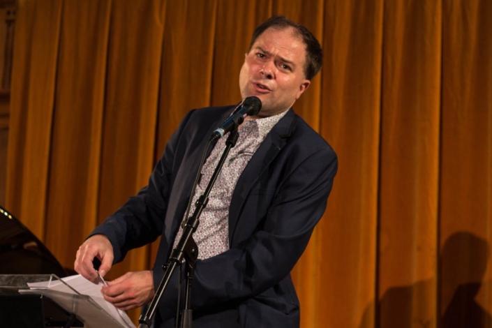 Matthias Vincenot, Docteur ès Lettres, directeur artistique de Poésie en liberté