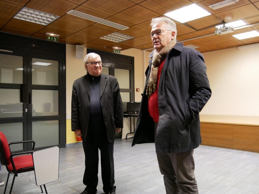Daniel Gruat, Vice-Président et Proviseur du Lycée Dorian, nous accueille dans son établissement