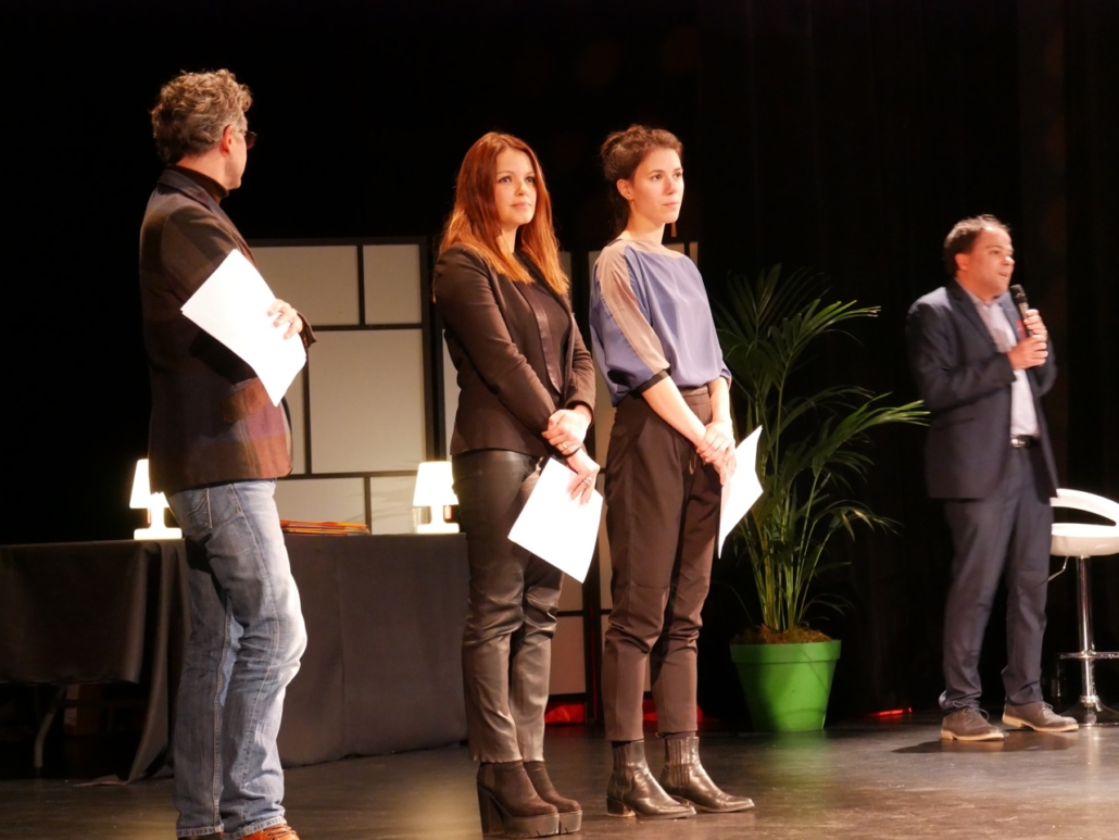 Frédéric Gorny, Séverine Ferrer et Hanne Mathisen Haga
