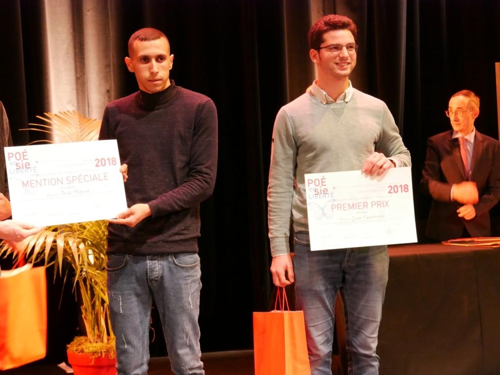 Louis Cammarata, Massachusetts Institute of Technology - Cambridge (États-Unis), 1er prix des étudiants de l'Etranger