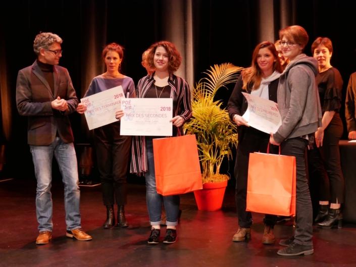 Palmarès IDF : Frédéric Gorny et Marine Laffort, Prix des Secondes, Hanne Mathisen Haga, Coline Beal et Louise Jouveshomme, Prix des Premières