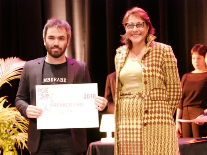 Mariane Tanzi et Léo Porfilio, Faculté de Médecine Lyon-Sud - Pierre-Bénite (69), 1er prix des Etudiants