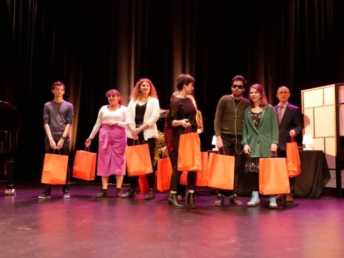 Les jurés du concours: Benoît Martinez, Feryel Kaabeche, Margarita Stroganova, Eva Pechová, , Jason Blanc-Bernard, Léa Furic Lisa Argento