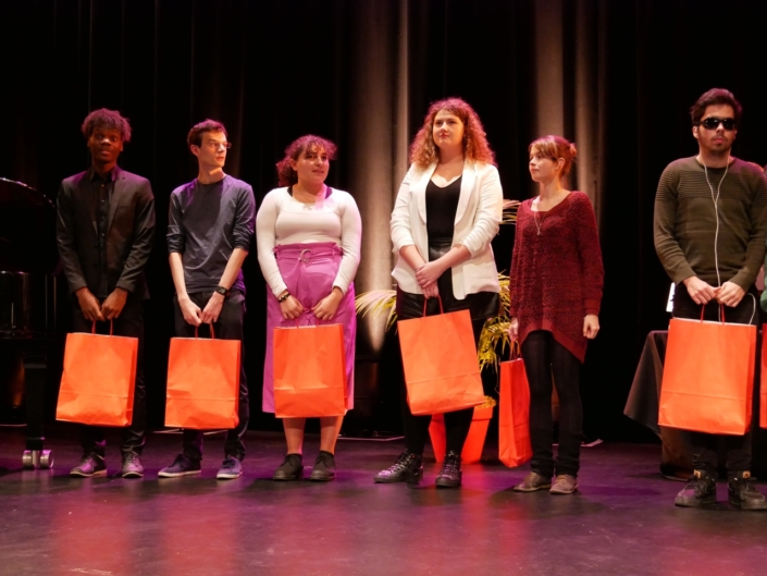 Les jurés du concours: Luc Manene, Benoît Martinez, Feryel Kaabeche, Margarita Stroganova, Eva Pechová, Jason Blanc-Bernard,