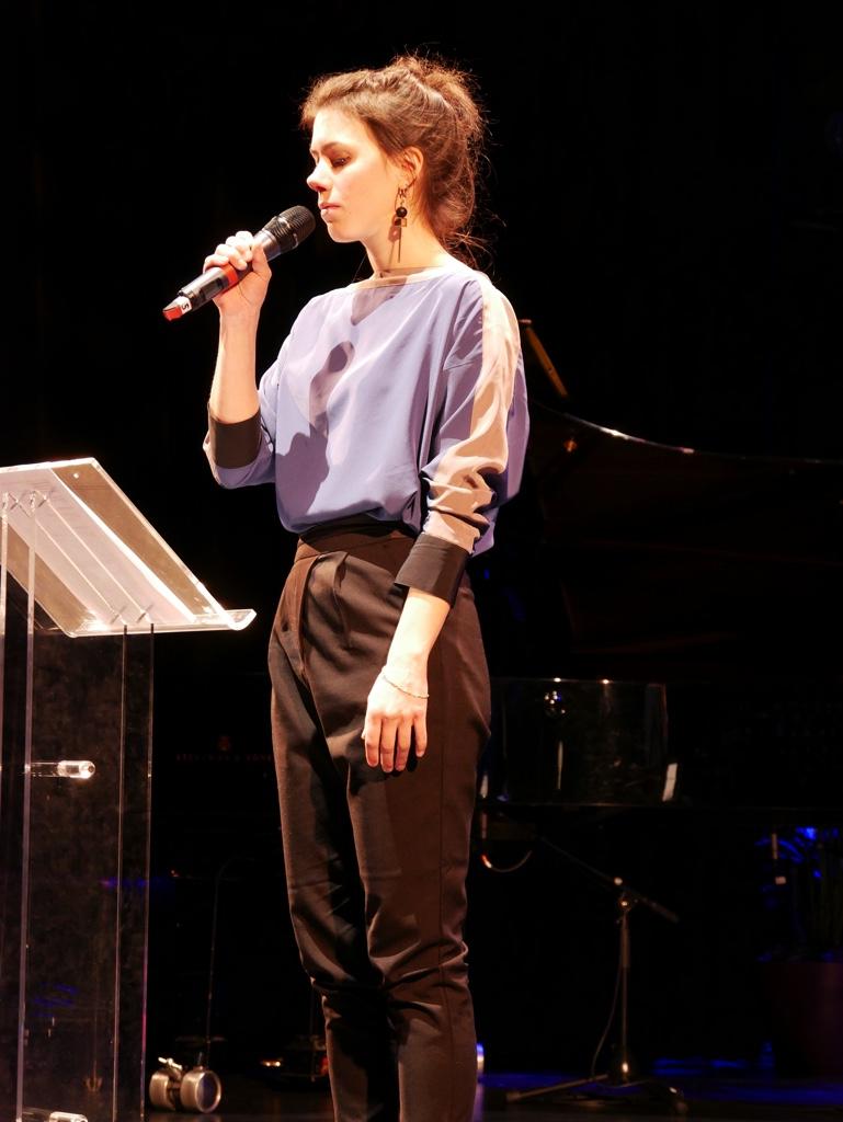 La comédienne Hanne Mathisen Haga