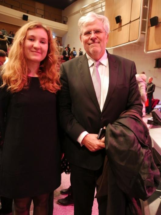 S.E. Igor Slobodník, Ambassadeur de la République slovaque à Paris et Daniela Sabová