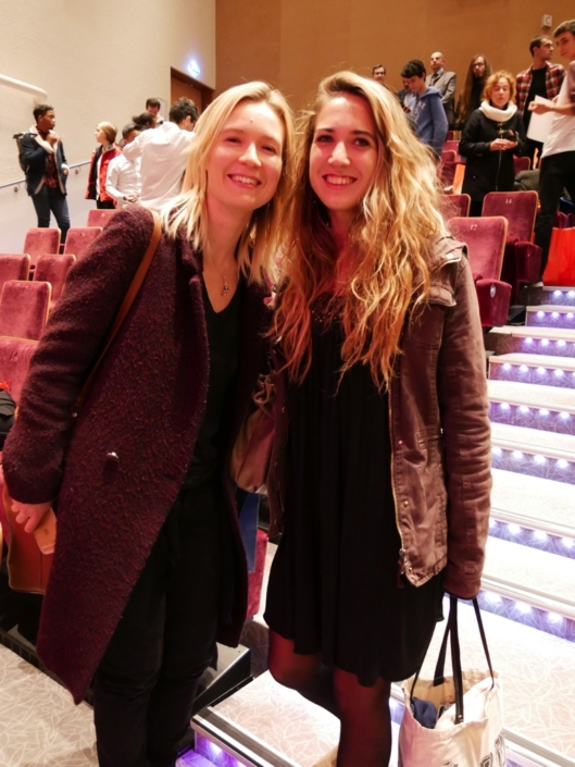 Laura Flane et Mélodie Quercron