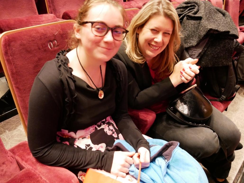 la lauréate Floria Reynaud et sa maman d'accueil Mélanie Dumont Torrès