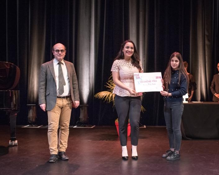 Bernard Franco, Ahlem Ben Massoud, Correspondante en Tunisie. Poésie en liberté et Hasna Mouhou, CEM Azwaw-Amrane - Tazmalt (Algérie), 2ème prix des Secondes, Lycées de l'Etranger