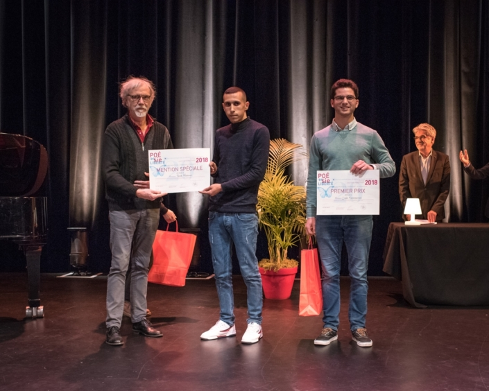 Pierre Kobel et Tarik Mahtout, Louis Cammarata, Massachusetts Institute of Technology - Cambridge (États-Unis), 1er prix des étudiants de l'Etranger