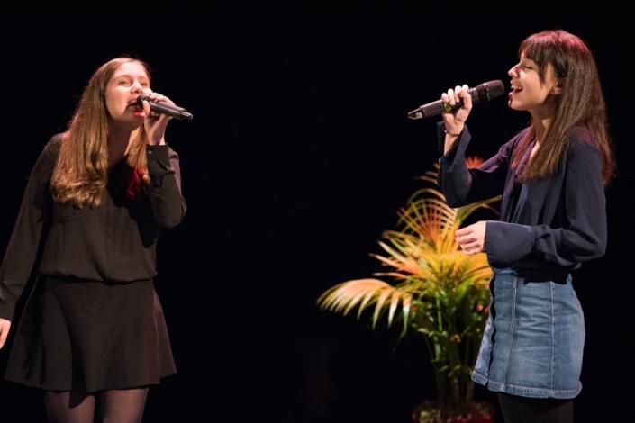 Tess Hofer et Jenna Boulmedaïs