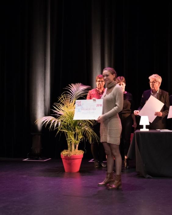Jeanne Guilment, Lycée Kléber - Strasbourg (67), 1er prix des Secondes