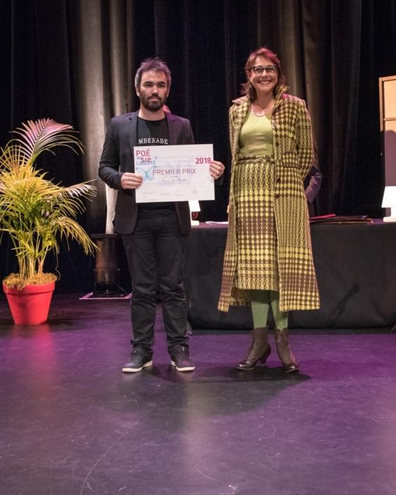 Mariane Tanzi et Léo Porfilio, Faculté de Médecine Lyon-Sud - Pierre-Bénite (69), 1er prix des Etudiants,