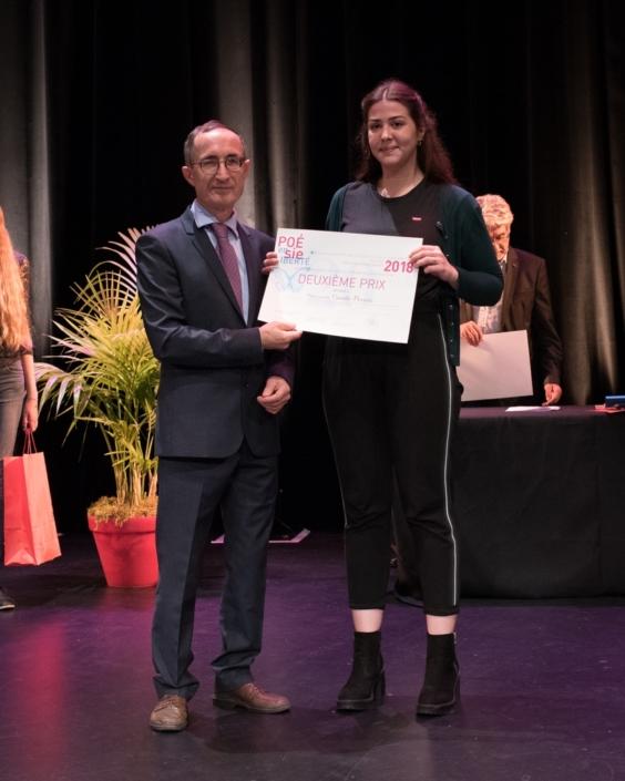 Gilles Tabard et Camille Decroix,CFA Codis - Paris (75), 2ème prix des Apprentis en Première