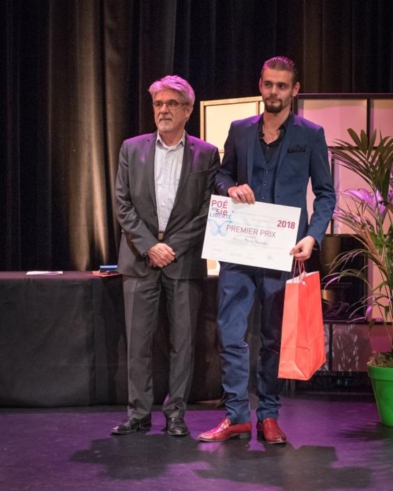 Guy Féret et Pierre Naviglio CFA Techniques du Bâtiment et de l'Architecture - Annemasse (74), 1er prix des apprentis en Terminale
