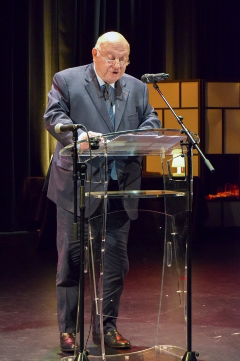André Santini, Maire d'Issy-les-Moulineaux, vice-Président de la Métropole du Grand Paris, Ancien Ministre.