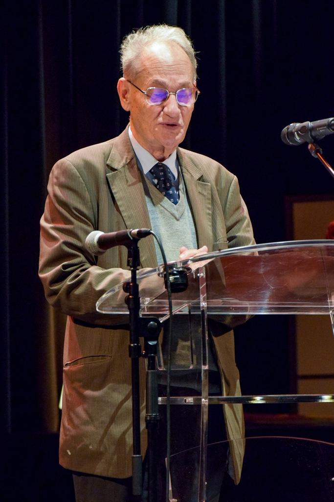 Pierre Brunel, de l'Académie des Sciences morales et politiques, Professeur émérite à l'Université Paris-Sorbonne, Président d'honneur de Poésie en liberté