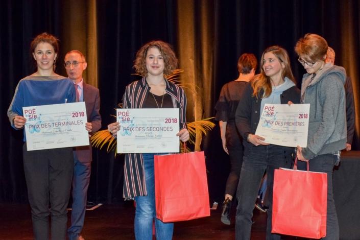 Palmarès IDF : Hanne Mathisen Haga, Gilles Tabard, Marine Laffort, Prix des Secondes, Coline Béal et Louise Jouveshomme, Prix des Premières