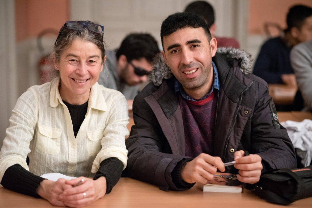 Sylvie Guilment et Hidher Dahmana