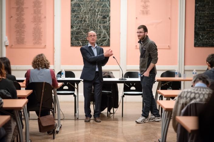 Gilles Tabard et Lucas Teyssier