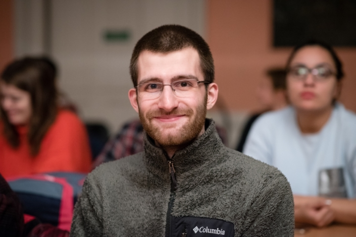 Lucas Teyssier, Président d'Espéranto-Jeunes