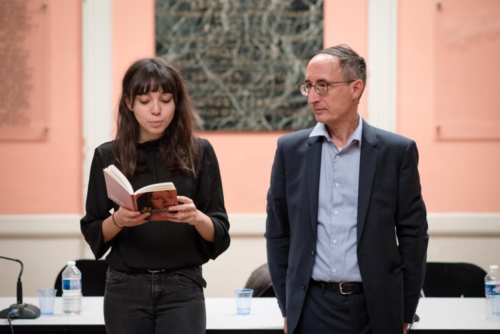 Jenna Boulmedais, Jurée du concours et Gilles Tabard
