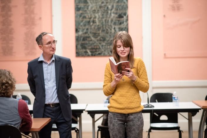 Gilles Tabard et Eva Pechova