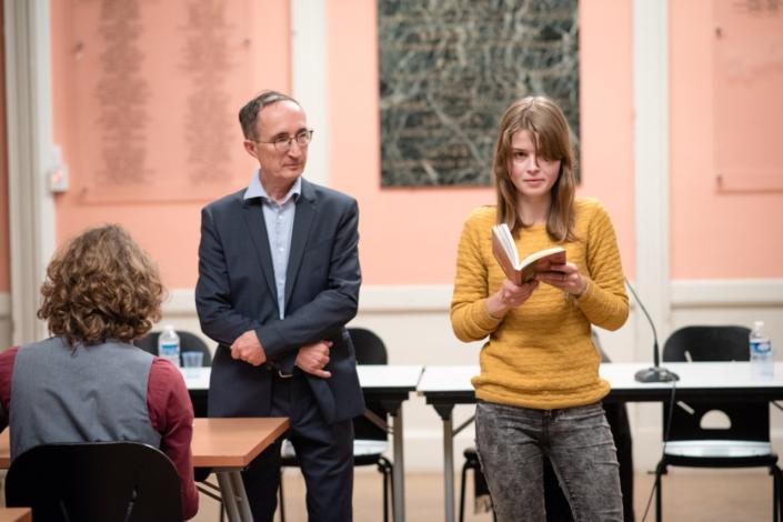 Eva Pechova, 3ème prix Espéranto