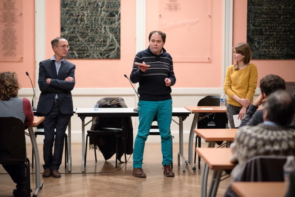 Intervention de Matthias Vincenot, Directeur Artistique