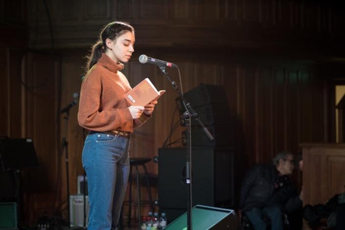 Jenna Boulmedais, Jurée 2018
