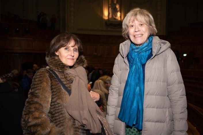 Rose Séguignes, Secrétaire générale et Elisabeth Jouhaud, son adjointe