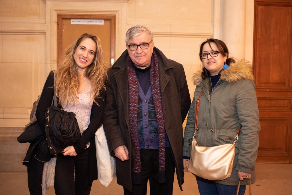 Mélodie Quercron, poète, Jean-Marc Muller et Lynda Aït Bachir, Déléguée générale