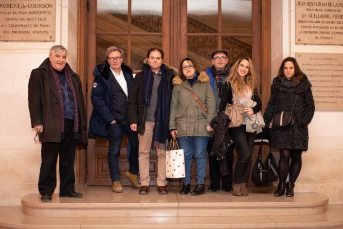 Jean-Marc Muller, Pascal Gravaud, Matthias Vincenot, Lynda Aït Bachir, André Prodhomme, Mélodie Quercron, Clémence Chevreau