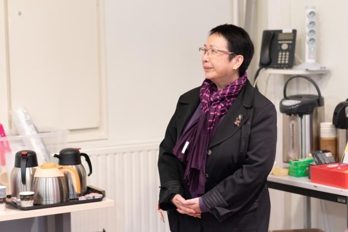 Yen Kuan, Attachée de Direction, coordinatrice / Poésie en liberté