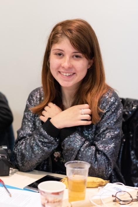 Léa Furic, Lycéenne en Terminale littéraire / Cours Molière à Blagnac (31)