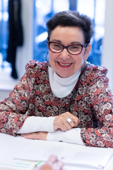 Nicole Simonet, Professeur de Lettres, Vice-Présidente d'honneur / Poésie en liberté