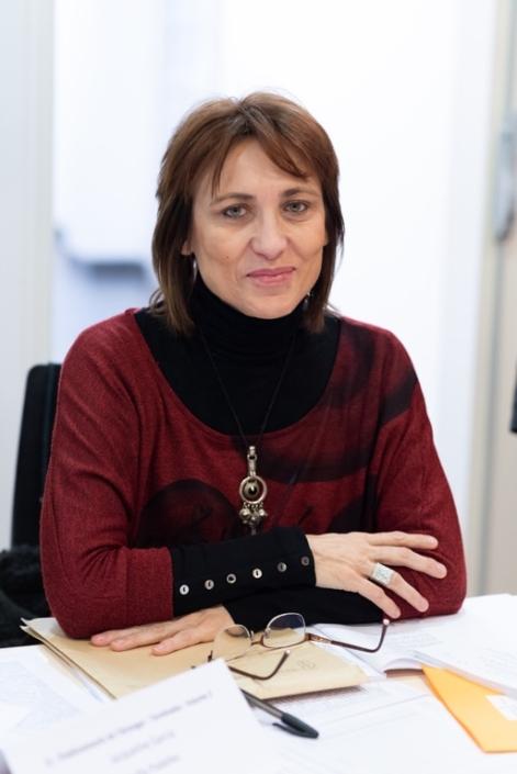 """Laurence Bouvet, Poète, directrice de la collection """"Le vrai lieu"""" chez les Editions Unicité"""