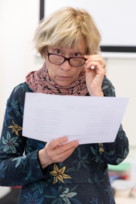 Elisabeth Jouhaud, Professeure / Secrétaire générale adjointe / Poésie en liberté